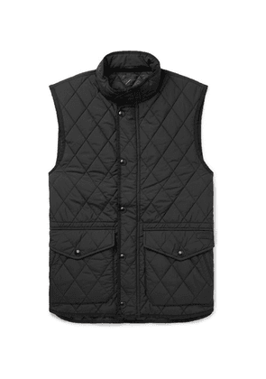 Polo Ralph Lauren - Slim-fit Padded Quilted Shell Gilet - Black