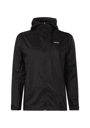 Patagonia - Houdini Nylon-ripstop Hooded Jacket - Black