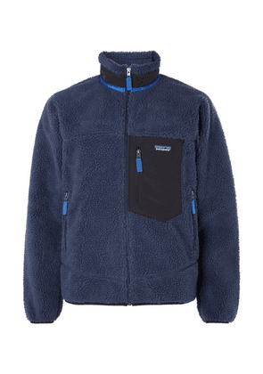 Patagonia - Classic Retro-x Shell-trimmed Fleece Jacket - Navy