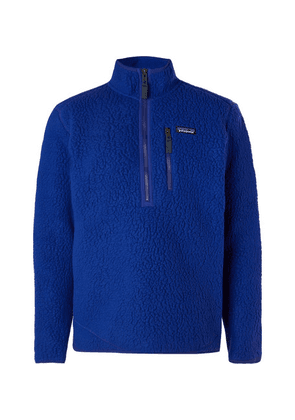 Patagonia - Fleece Half-zip Jacket - Blue