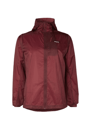 Patagonia - Houdini Nylon-ripstop Hooded Jacket - Burgundy