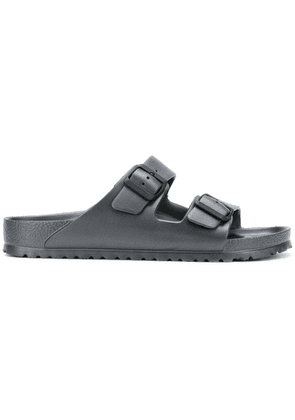 Birkenstock double buckle sandals - Grey