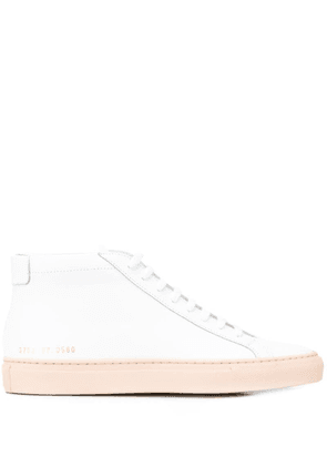 Common Projects high top sneakers - White