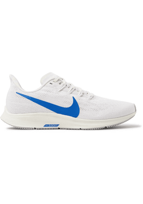 Nike Running - Air Zoom Pegasus 36 Mesh Running Sneakers - White