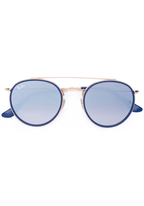 Ray-Ban oversize round sunglasses - Blue