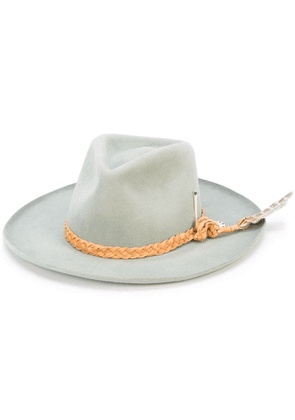 Nick Fouquet woven strap detail hat - Grey