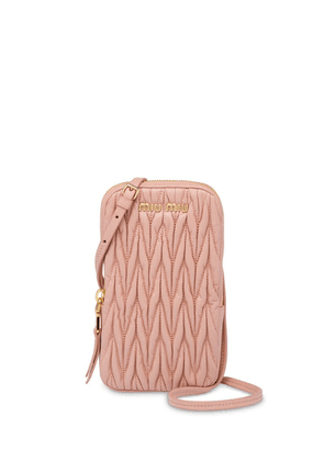 Miu Miu Matelassé mini bag - Pink
