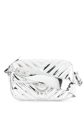 Pinko quilted crossbody bag - Silver
