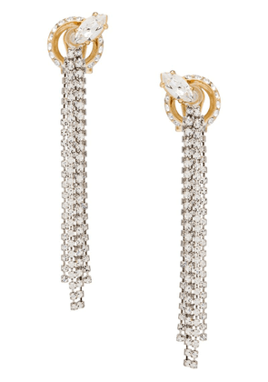 Miu Miu New Crystal Jewels earrings - Silver