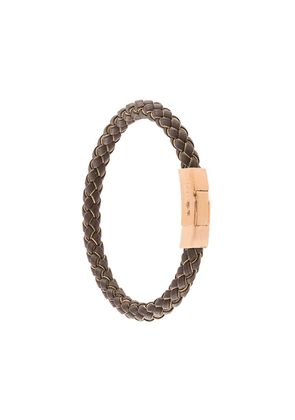 Tateossian Click Tocco bracelet - Brown