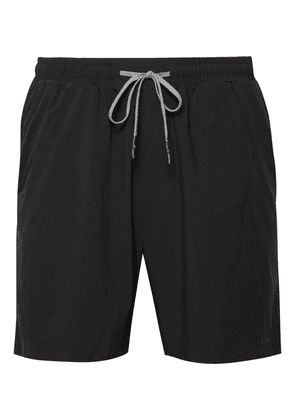 FALKE Ergonomic Sport System - Basic Challenger Slim-fit Stretch-shell Shorts - Black