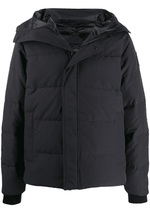 Canada Goose hooded puffer coat - Blue