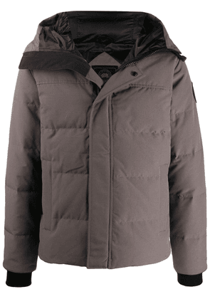 Canada Goose quilted hooded jacket - Grey