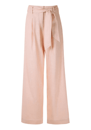 Nk Adriana tied waistband trousers - Pink