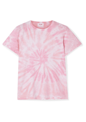 RE/DONE - Classic Tie-dyed Cotton-jersey T-shirt - Pink