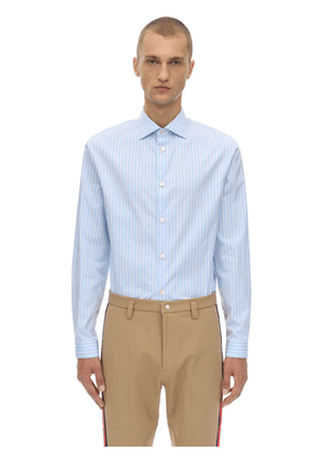 Cotton Fides Striped Shirt