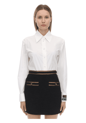 Heavy Cotton Poplin Shirt