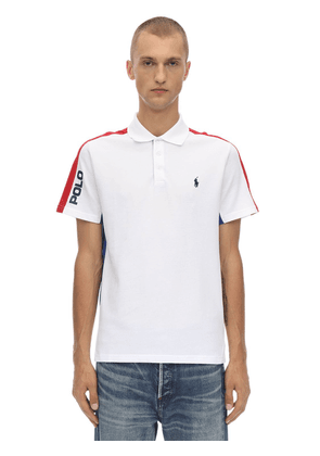 Basic Mesh Cotton Piqué Polo