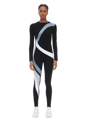 Game Stretch Techno Jumpsuit