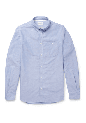 Norse Projects - Anton Button-down Collar Cotton Oxford Shirt - Blue