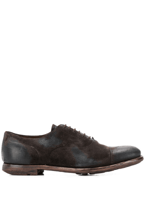 Church's distressed oxford shoes - Brown
