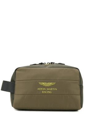 Hackett slogan wash bag - Green