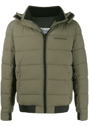 Calvin Klein Jeans padded shell jacket - Green