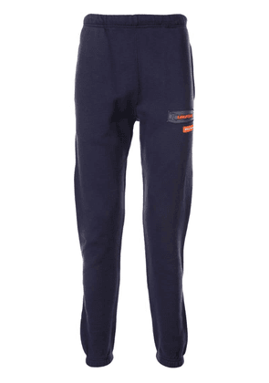 Heron Preston 'Uniform' patch track pants - Blue