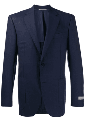 Canali wool single breasted blazer - Blue