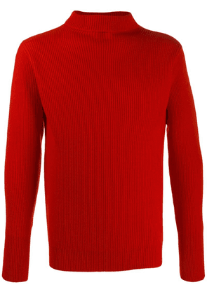 Barena rollneck wool sweater - Red