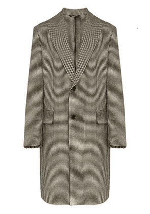 Dolce & Gabbana houndstooth single-breasted coat - Multicolour