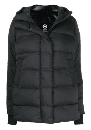 Canada Goose hooded puffer jacket - Black
