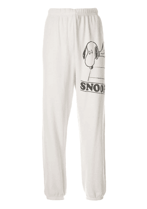 Marc Jacobs Snoopy classic track pants - White