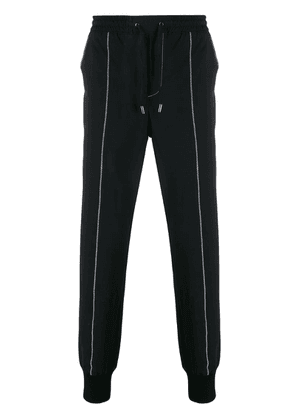 Karl Lagerfeld slim-fit travel pants - Blue