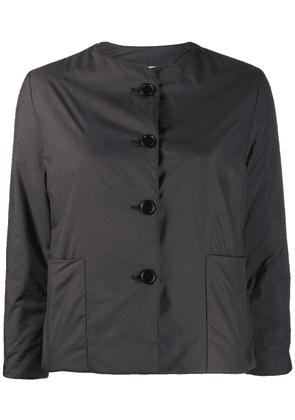 Aspesi button up fitted jacket - Black