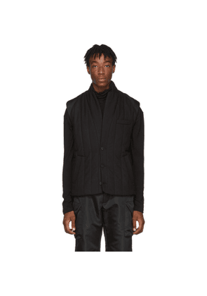 D.Gnak by Kang.D Black Quilting Vest