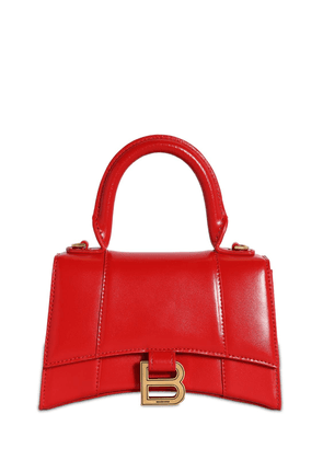 Xs Hourglass Smooth Leather Bag