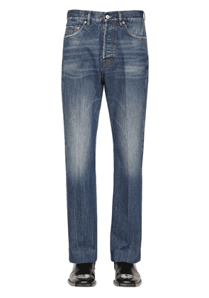 Cropped Japanese Cotton Denim Trousers
