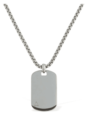 Ns Id Tag Chain Necklace