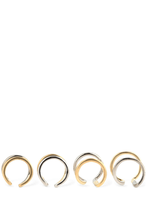 Set Of 4 Bicolor Rings