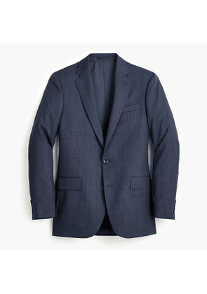 Ludlow Essential Slim-fit suit jacket in mini herringbone stretch four-season wool