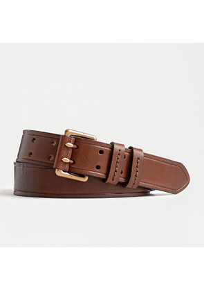 Wallace & Barnes double-pronged leather belt