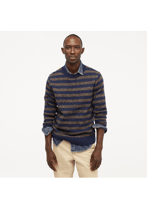 Wallace & Barnes striped crewneck in natural wool