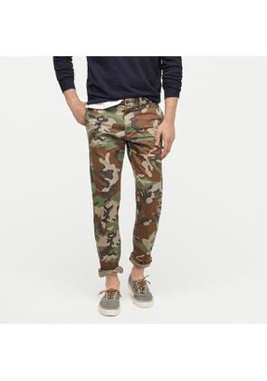 484 Slim-fit pant in camouflage Broken-in chino
