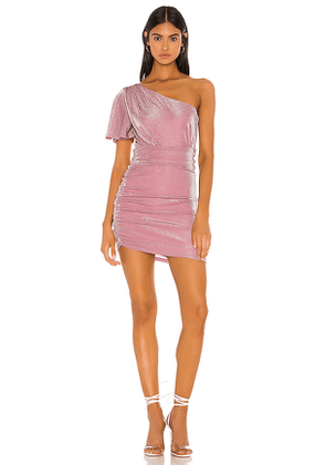 Privacy Please Ryleigh Mini Dress in Pink. Size M,S,XL,XS,XXS.