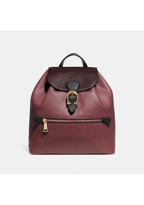 Coach Evie Backpack In Colorblock Leather