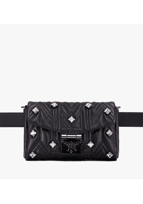 Patricia Belt Bag In Crystal Quilted Leather