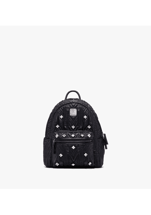 Stark Backpack In Crystal Quilted Leather