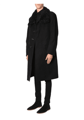 Tom Ford Coat With Shearling Collar