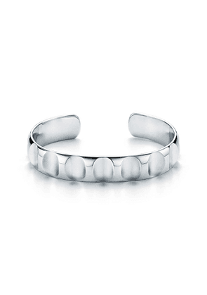 Paloma's Groove wide cuff in sterling silver, extra large